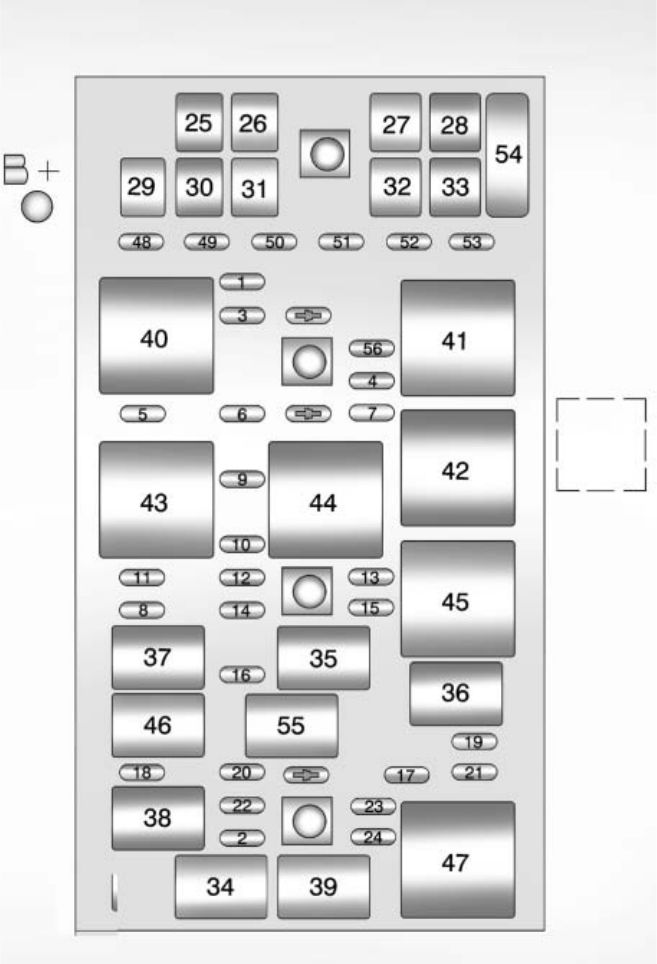 Chevrolet Corvette  2011   U2013 Fuse Box Diagram