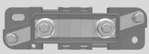 Chevrolet Express - wiring diagram - fuse box - mega fuse holder