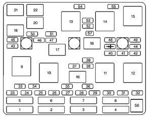 chevrolet malibu (2003) – fuse box diagram - carknowledge.info  carknowledge.info