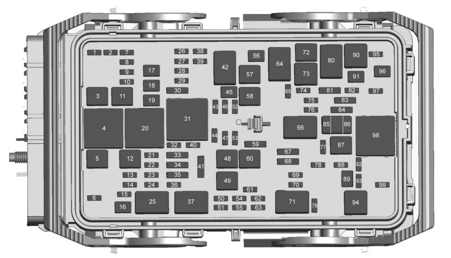chevrolet malibu  2017   u2013 fuse box diagram