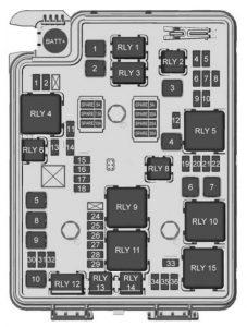 Chevrolet Sonic (2018) – fuse box diagram - Carknowledge.info | Chevrolet Sonic Fuse Box |  | Carknowledge.info