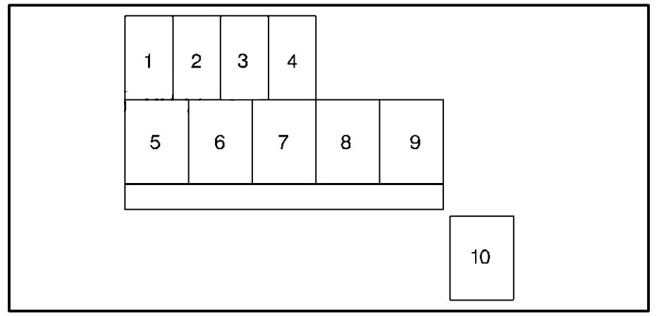 Chevrolet Tracker Wiring Diagram Fuse Box Diagram Engine Compartment