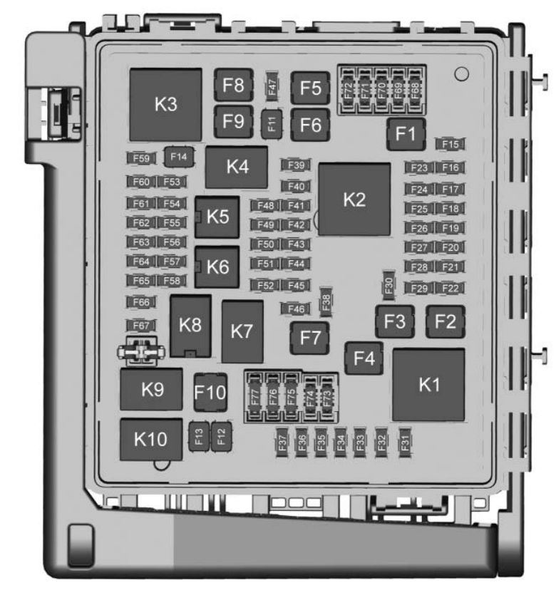 Chevrolet Traverse (2018) - fuse box diagram ...