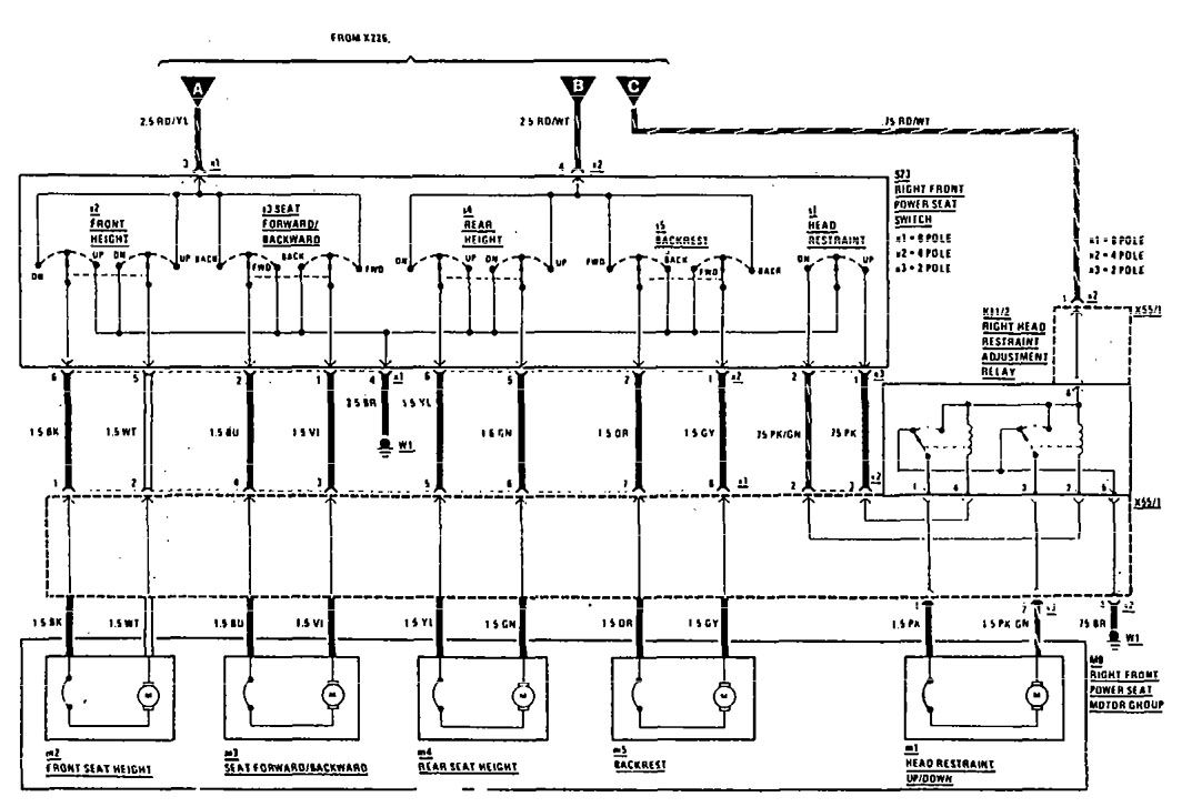 mercedes 190e wiring diagram