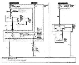 Mercedes Benz 190E - wiring diagram - rear window defogger