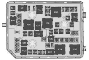 Buick Envision - wiring diagram - fuse box diagram - engine compartment