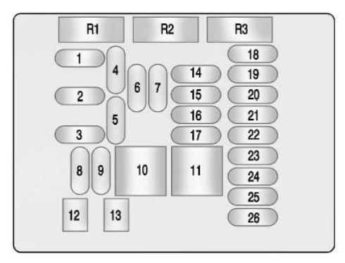 buick lacrosse - wiring diagram - fuse box diagram - instrument panel