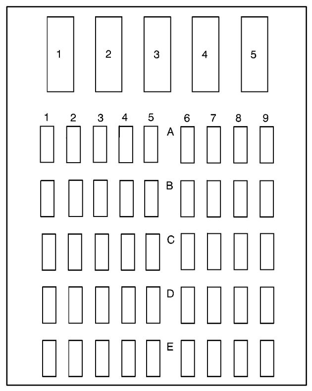 [DIAGRAM_38ZD]  Buick Park Avenue (1995) – fuse box diagram - Carknowledge.info | Fuse Box 1990 Buick Park Avenue |  | Carknowledge.info