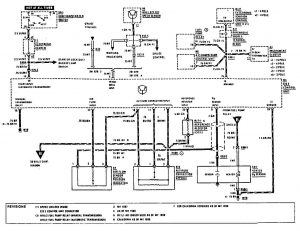 Mercedes-Benz 190E -  wiring diagram - fuel controls (part 1)