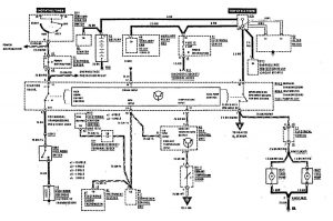 Mercedes-Benz 190E - wiring diagram - fuel controls