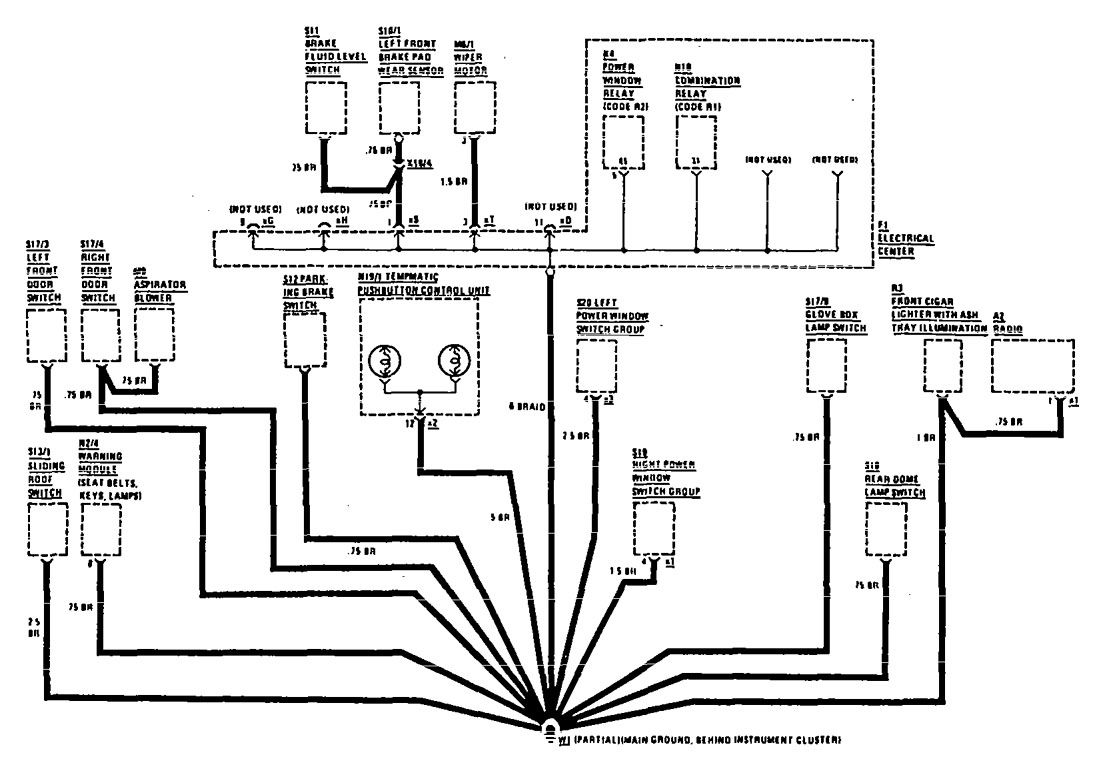 Wiring Diagram For Mercedes G Wagon Class Best Secret 1990 190e Diagrams Electrical W204 Ac
