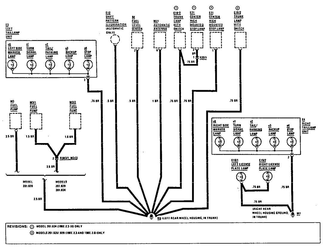 Mercedes Benz 190e Electrical Wiring Diagram Download : Mercedes benz e  wiring diagrams