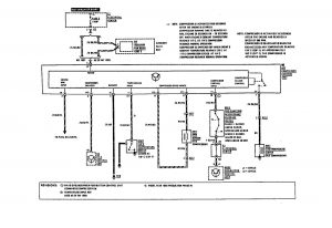 Mercedes Benz 190E -  wiring diagram - HVAC controls (part 1)