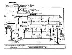Mercedes-Benz 190E -  wiring diagram - speed control