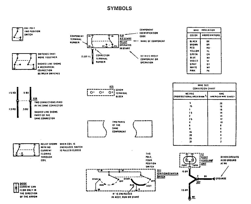 Mercedes Benz 190e 1990 1991 Wiring Diagrams Symbol Id Aspire Starter Relay Diagram