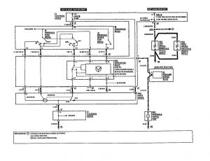 Mercedes-Benz - wiring diagram - wiper/washer