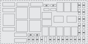 Abarth Grande Punto - wiring diagram - fuse box diagram - engine compartment