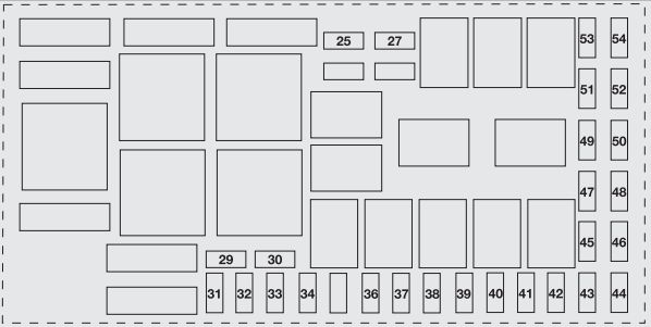 Abarth Grande Punto  2007  U2013 2010   U2013 Fuse Box Diagram