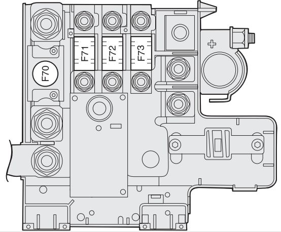 Alfa Romeo 159  2005  U2013 2011   U2013 Fuse Box Diagram