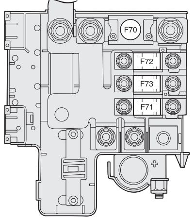 alfa romeo gt 2004 2010 fuse box diagram carknowledge. Black Bedroom Furniture Sets. Home Design Ideas