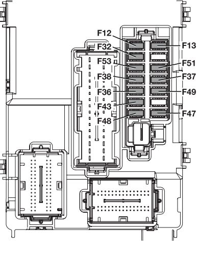 alfa romeo mito  from 2013   u2013 fuse box diagram