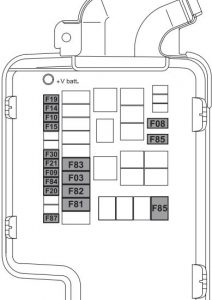 Alfa Romeo MiTo -  wiring diagram - fuse box diagram - engine compartment