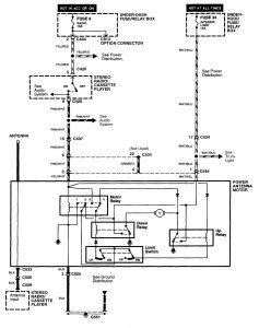 Acura MDX (2001) - wiring diagrams - antenna ...