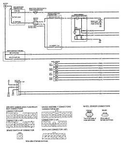 Acura MDX  -wiring diagram - brake controls (part 1)