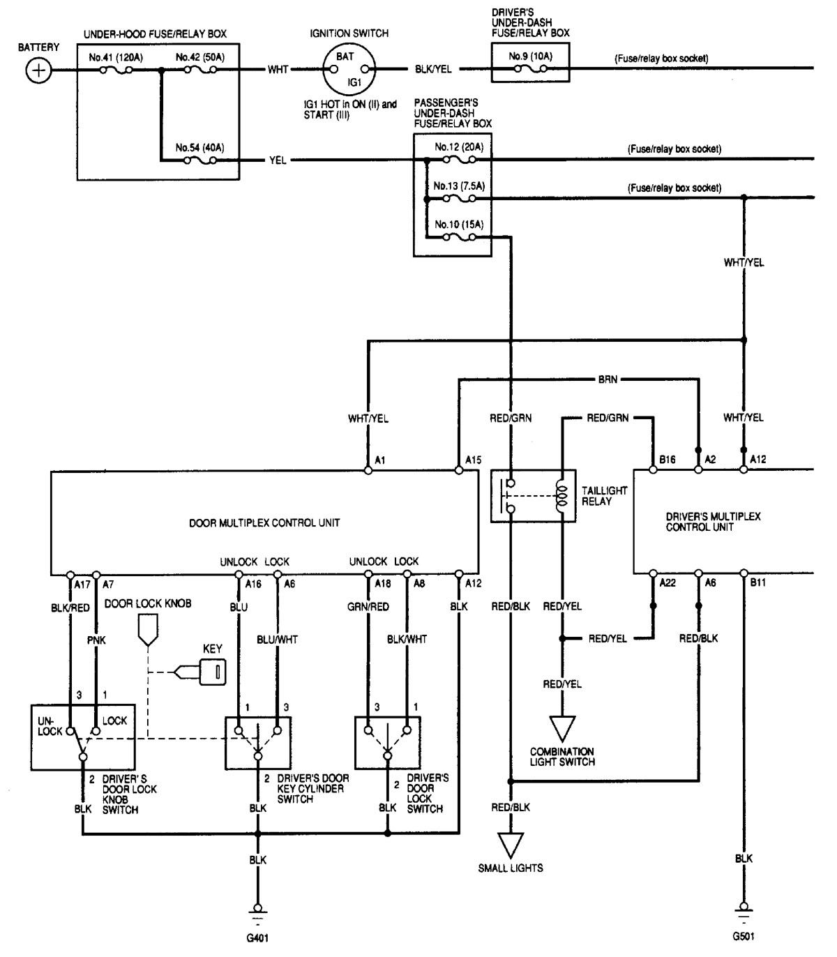 Acura Mdx 2001 Wiring Diagrams Security Anti Theft Carknowledge Hyundai Trajet Diagram Part 1