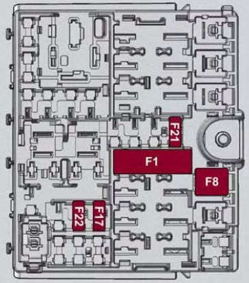 alfa romeo giulia from 2016 fuse box diagram. Black Bedroom Furniture Sets. Home Design Ideas