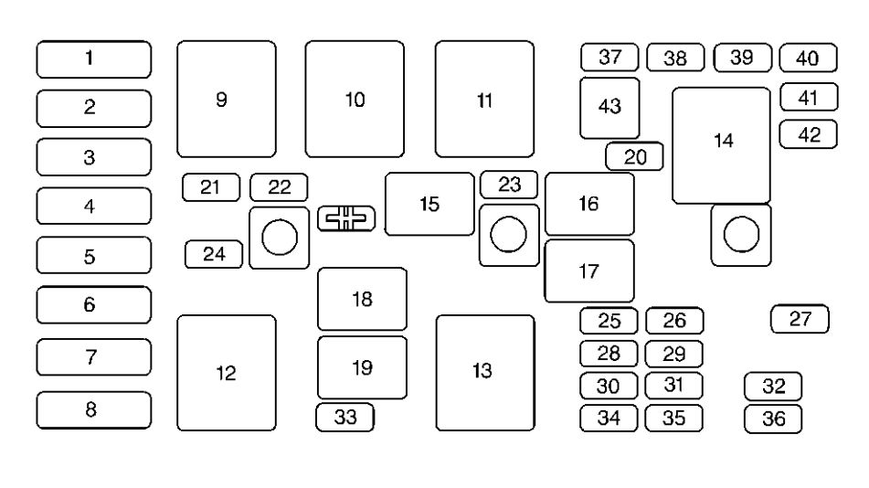 buick regal  2000   u2013 fuse box diagram