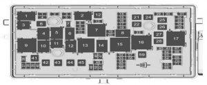 Buick Regal - wiring diagram - fuse box diagram - engine compartment
