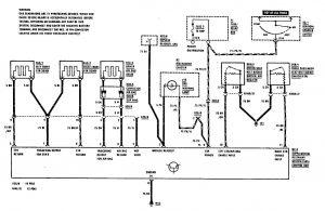 Mercedes-Benz 300CE - wiring diagram - air bags