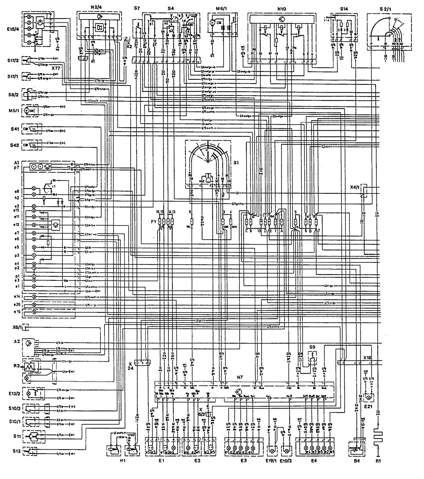 1966 Mercedes 230s Wiring Diagram - Trusted Wiring Diagram