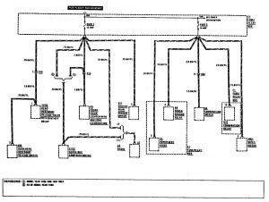 mercedes benz 300e fuse box diagram mercedes benz s430 fuse box diagram mercedes-benz 300e (1990 - 1991) - wiring diagrams - fuse ...