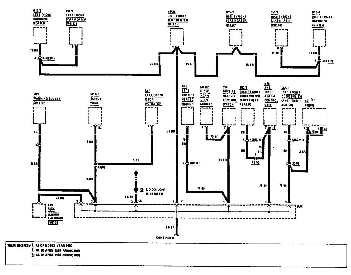 1993 Mercury Grand Marquis Radio Wiring Diagram Diagrams 93 Mercedes 300e 2001 Engine