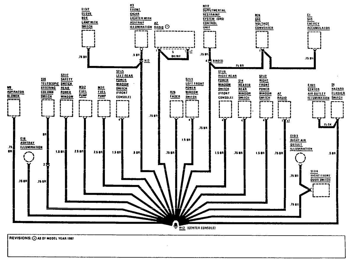 wiring diagrams for 1993 300ce