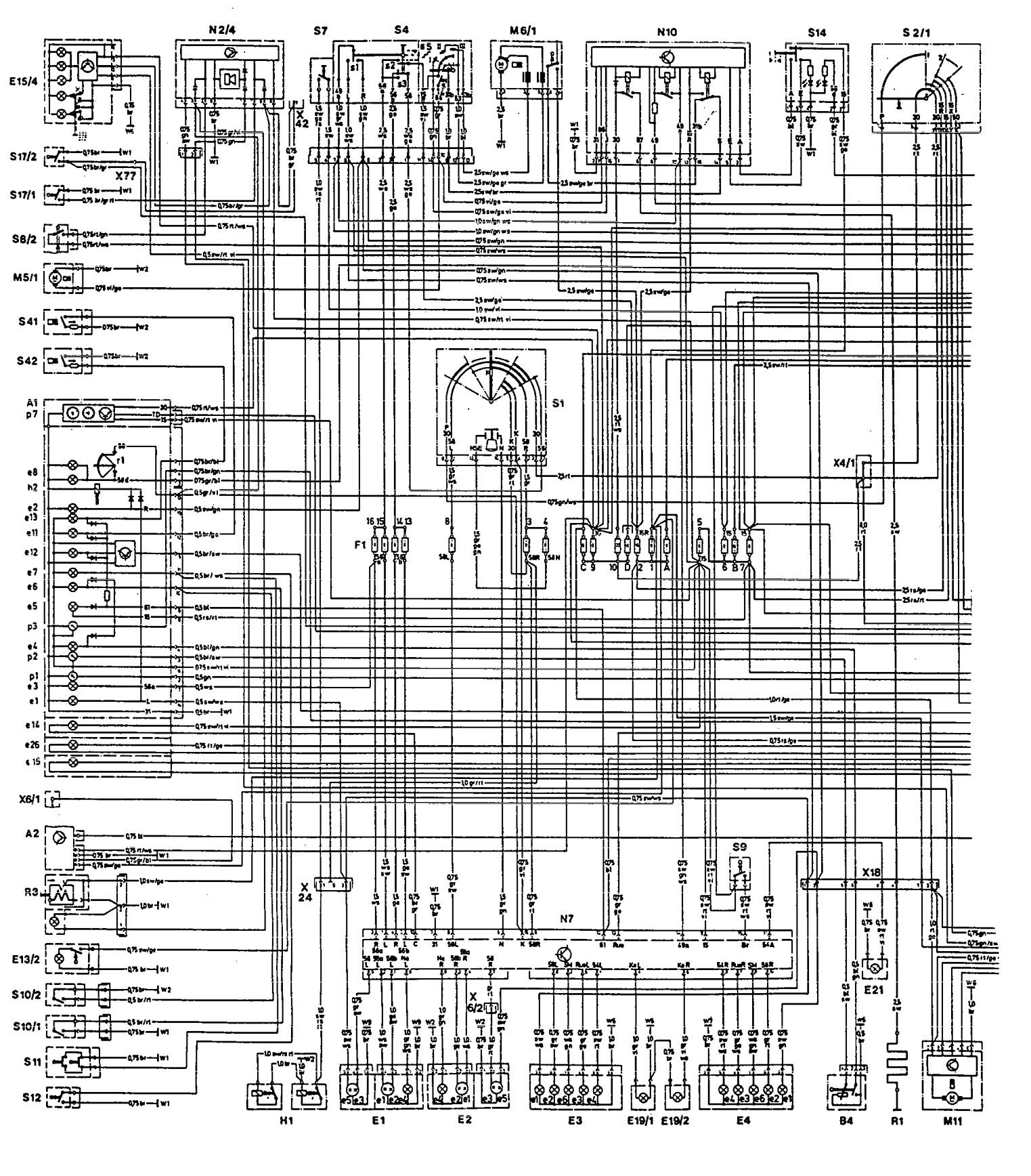 Mercedes Benz 300ce 1992 Wiring Diagrams Ignition Carknowledge Diagram Part 1