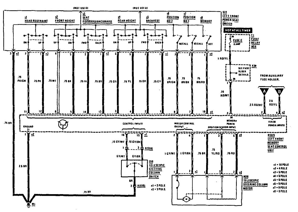 mercedes vito w638 wiring diagram