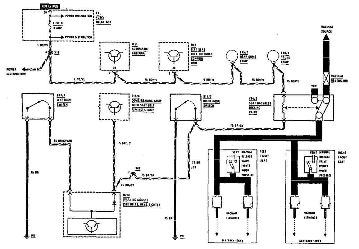 mercedes 300e wiring diagrams  mercedes  auto wiring diagram