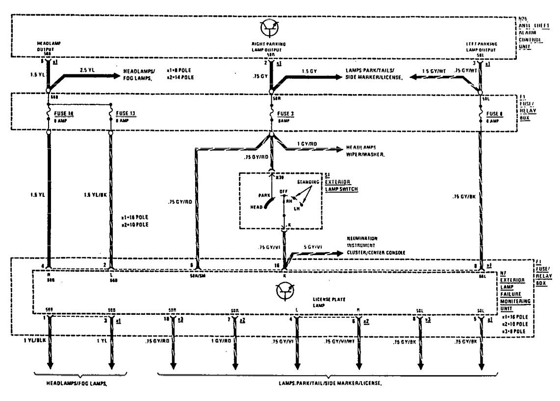 1992 Mercedes 300e Fuse Diagram Electrical Wiring Diagrams 1986 1990 Find U2022 92