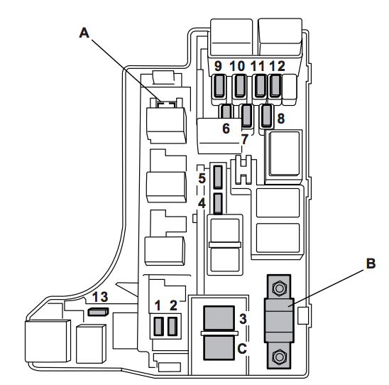Subaru Impreza  2007   U2013 Fuse Box Diagram