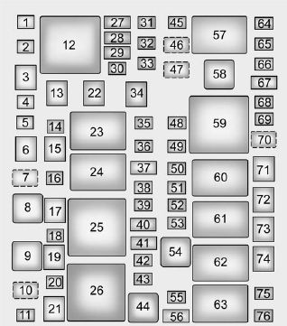 Fuse Box For 2004 Cadillac Ct - Wiring Diagram