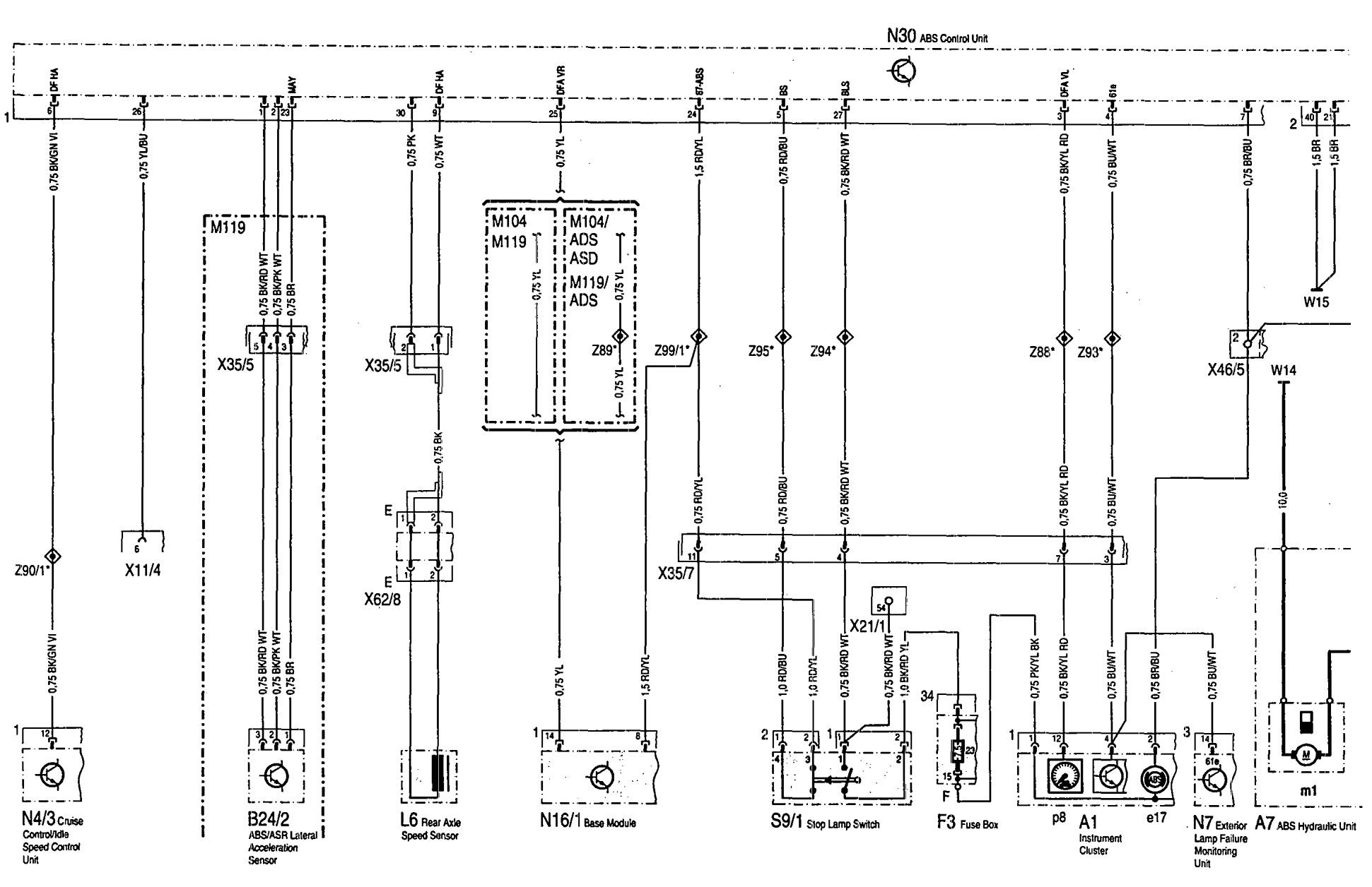 citroen c4 abs wiring diagram wiring library Citroen C3 Manual mercedes benz 300se wiring diagram abs (part 1)