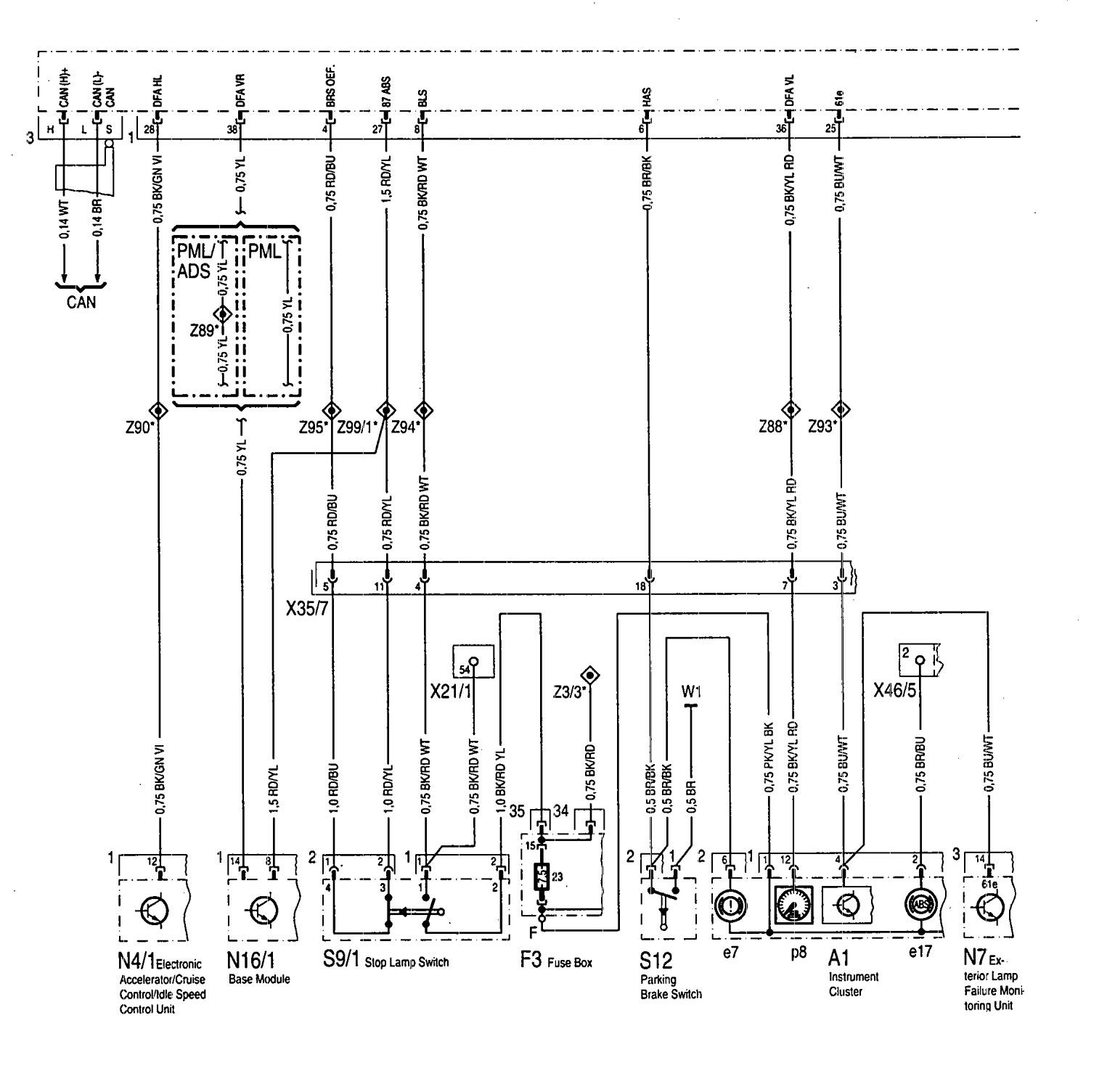 Mercedes Abs Wiring Diagram : Mercedes benz sel wiring diagrams abs