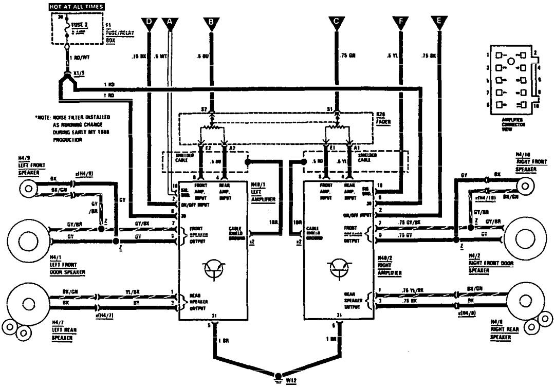 Wiring Diagram Mercedes Audio 20 : Mercedes benz sec wiring diagrams audio