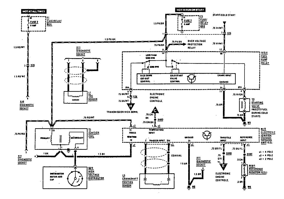 Mercedes 560sec Wiring Diagram - DIY Wiring Diagrams •