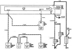 Mercedes-Benz 300SE - wiring diagram - diagnostic socket (part 2)