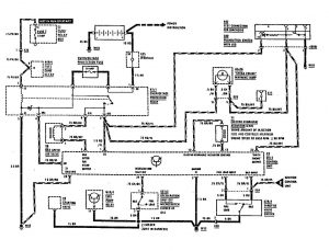 Mercedes-Benz 300SE - wiring diagram - fuel controls (part 1)