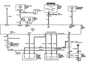 Mercedes-Benz 300SE - wiring diagram - fuel controls (part 2)